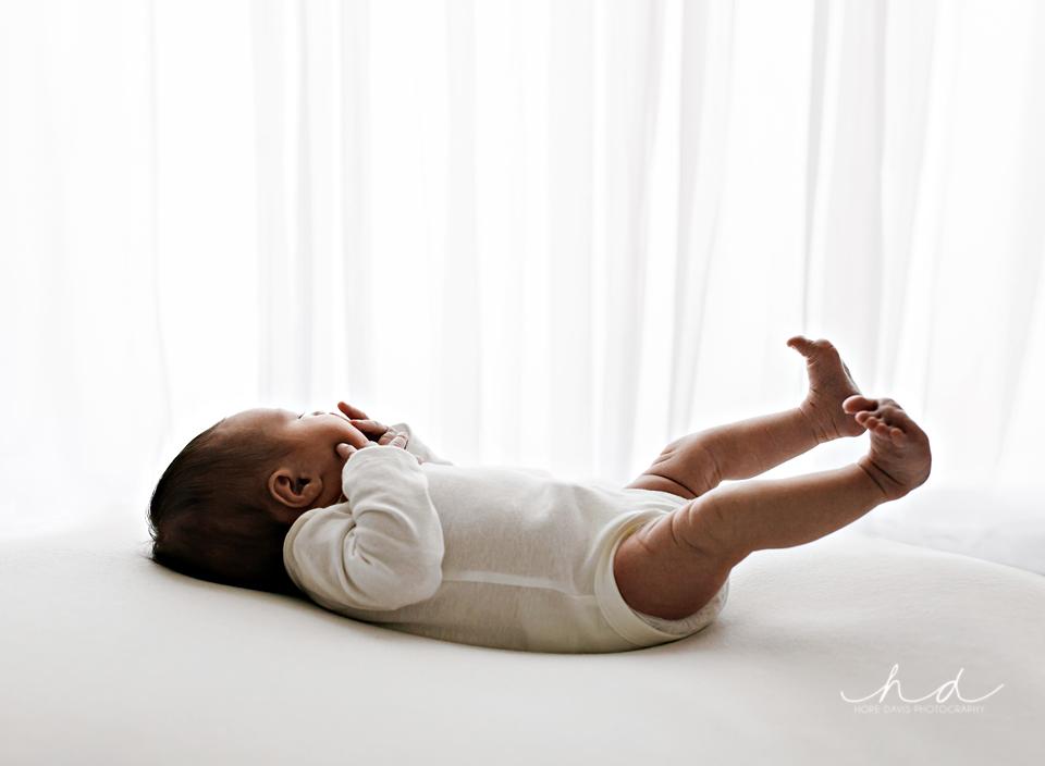 baby stretch