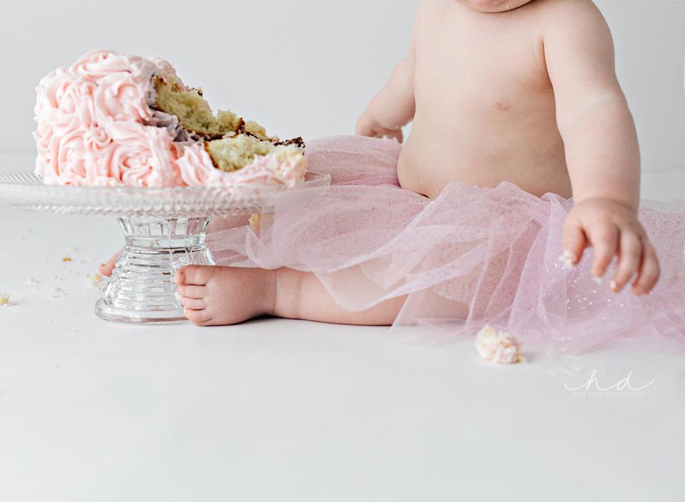 girl cake smash mississippi photographer