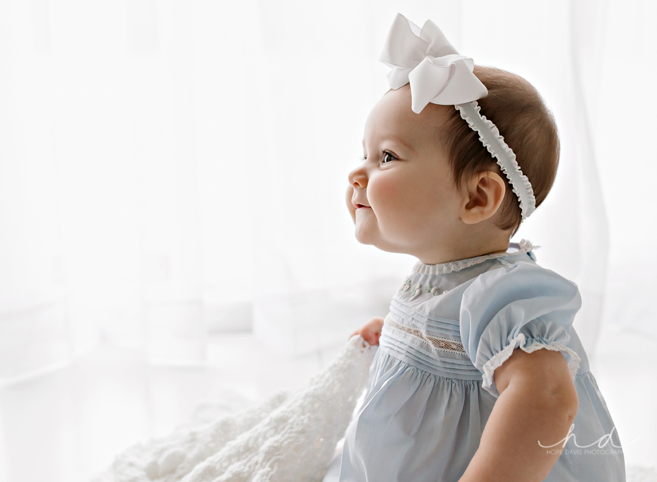 beautiful backlit baby photo hope davis photography