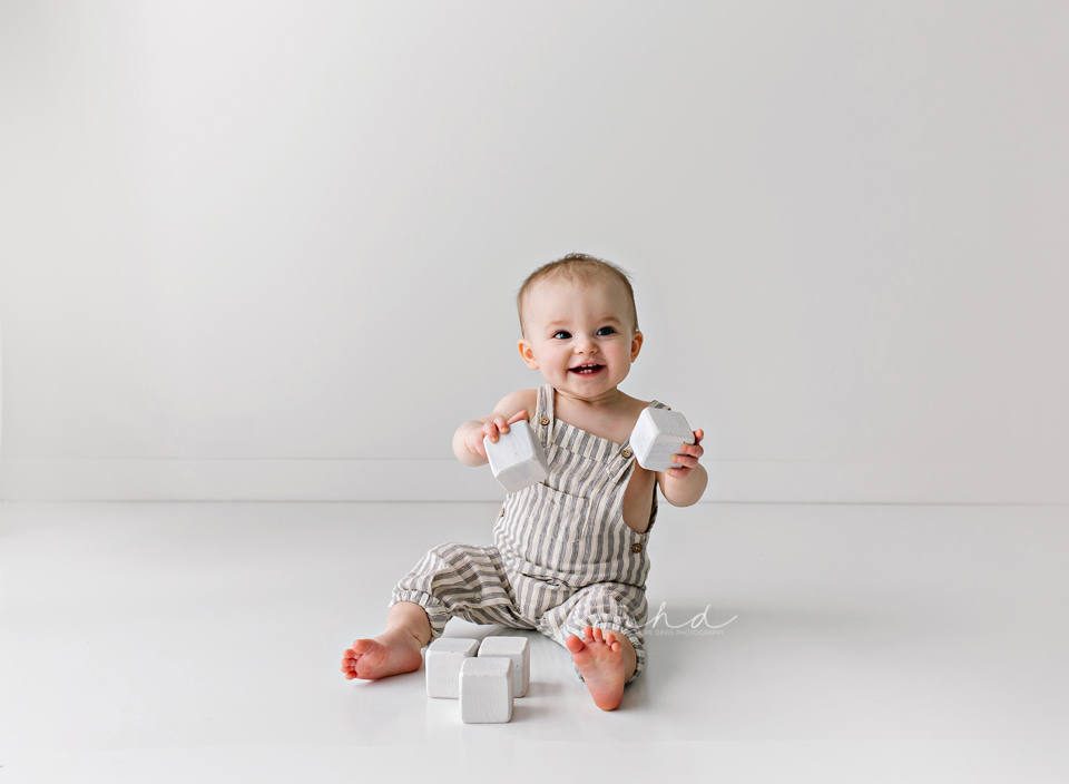 one year old portrait session jackson mississippi