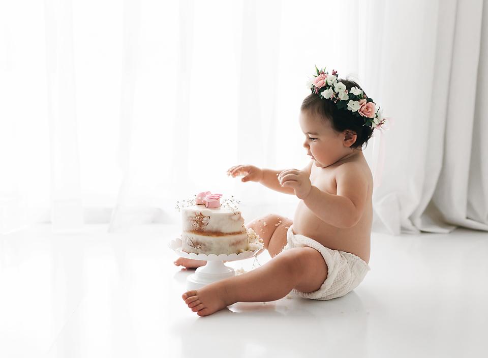 smash cake jackson ms photography